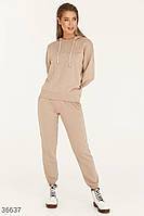 Oversize-костюм с вышивкой S-M,L-XL,2XL-3XL, фото 1