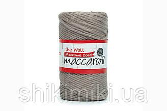 Эко шнур Macrame Cord 3 mm, цвет Капучино