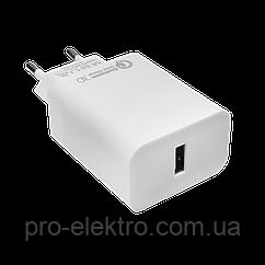 Швидке зарядний пристрій LP AC-011 USB 5V 3А Quick Charge 3.0 OEM