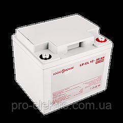 Аккумулятор гелевый  LP-GL 12 - 40 AH SILVER