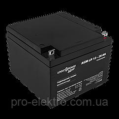 Аккумулятор AGM LP 12 - 26 AH SILVER (2018)