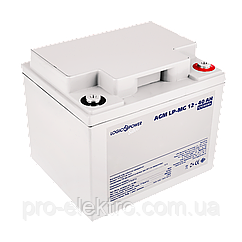 Аккумулятор мультигелевый AGM LogicPower LP-MG 12 - 40 AH SILVER (2018) (2313)