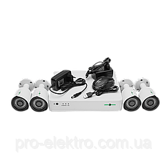 БУ Комплект видеонаблюдения GreenVision GV-K-S13/04 1080P
