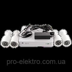 Комплект видеонаблюдения Green Vision GV-IP-K-S31/04 1080P
