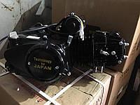 """Двигатель для квадроцикла (мопедный) в сборе 125куб - """"автомат"""" (3передачи + 1 задняя)"""