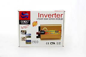 Преобразователь, инвертор UKC SSK - AC/DC, 12V/200V, 500W