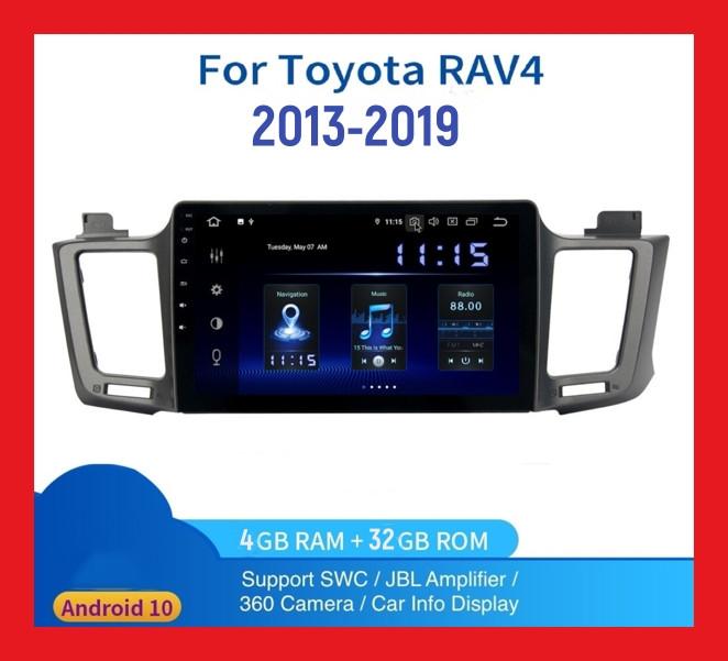 "Автомагнитола штатная  TOYOTA RAV4(2013-2019)+CANBUS 10 "" Android 10.1 Память 4/32 Гб"