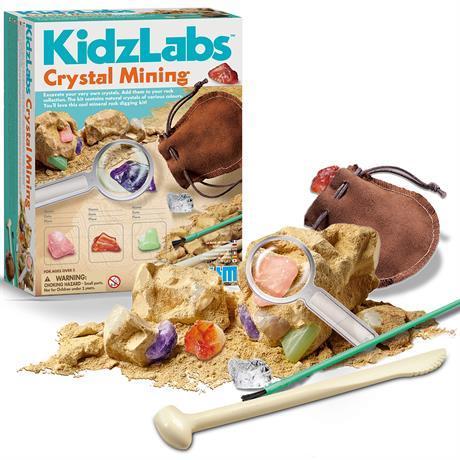 Набор для исследований Добыча минералов