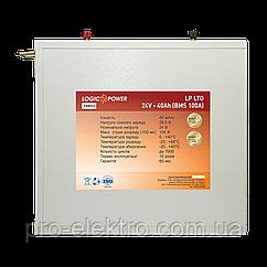 Акумулятор LP LTO 24V - 40Ah (BMS 100A) метал