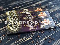 Черный шоколад Torras с миндалем без сахара, 300г