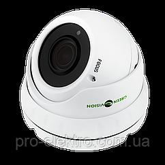 Антивандальная IP камера GreenVision GV-002-IP-E-DOS24V-30 3MP POE
