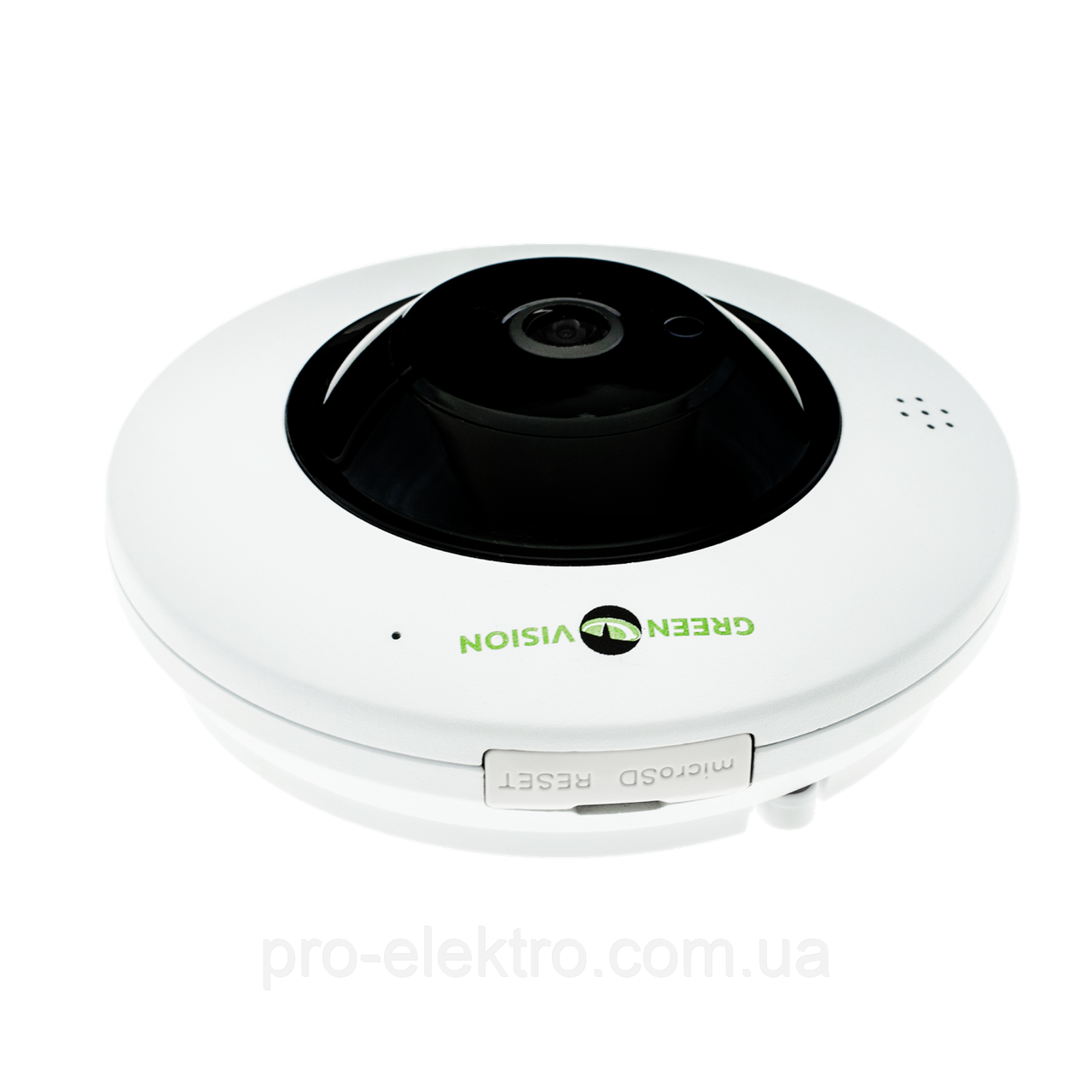 IP камера внутрішня GreenVision GV-076-IP-ME-DIS40-20 (360) POE