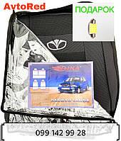 Автомобильные чехлы на сидения Дэу Ланос 1997- седан Ника Авточехлы Daewoo Lanos 1997- sedan Nika