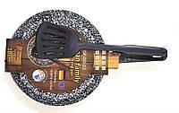 Млинниця з Лопаткою і Гранітним Покриттям Діаметр 20 см German Family GF-055-20, фото 1