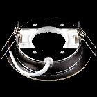 Світильник Ilumia під лампу GX53 Латунь 90mm коло врізний (052), фото 2