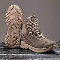 """Військові мембранні черевики """"Еверест"""" коричневі 40-46 р"""