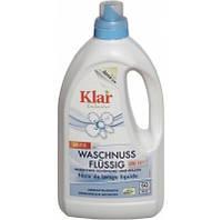 Органічний рідкий засіб для прання з екстрактом мильного горіха, 3 в 1. Klar