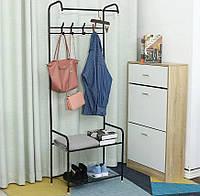 Вешалка для одежды 3 в 1 HAT STAND напольная | Стойка для вещей | Подставка под одежду