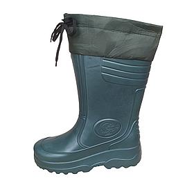 Зимові гумові чоботи Progres для риболовлі та мисливства - з утеплювачем