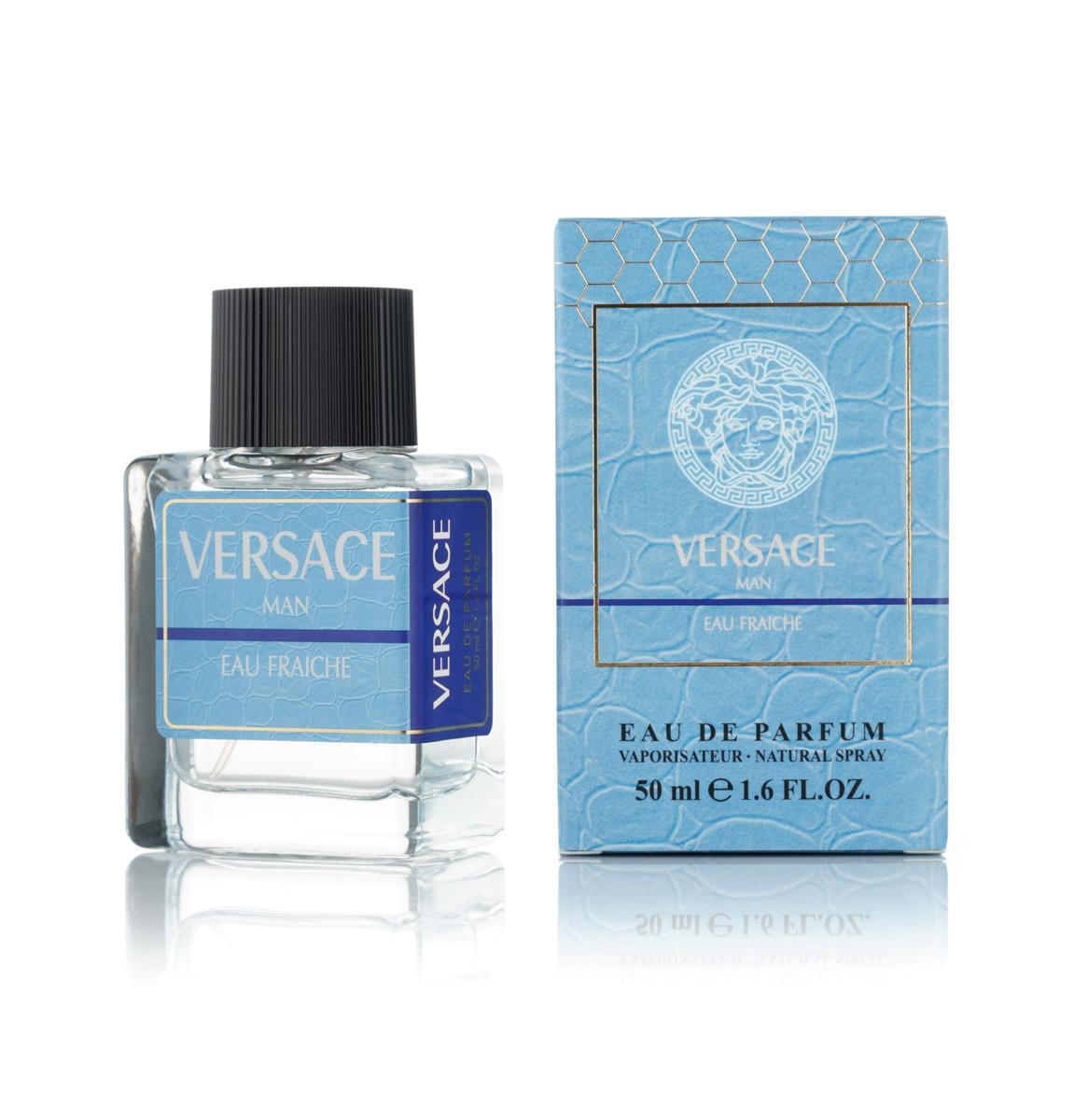50 мл мини парфюм Versace Man Eau Fraiche - М (код: 420)