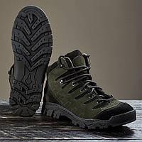 """Тактичні Військові черевики """"Алігатор"""" демісезонні Оливкові 36-46 р"""