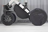 Чехлы-комплект на колеса коляски. Комплект-4шт. (ЗМ)