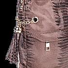 Женская сумка Realer P111 хаки, фото 5