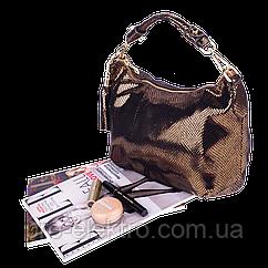 Женская сумка Realer P112 античная латунь
