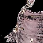 Жіноча сумка Realer P111 бежева, фото 4