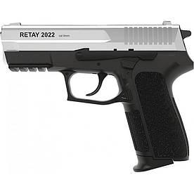 Пістолет стартовий Retay 2022. Колір - chrome Y530300C