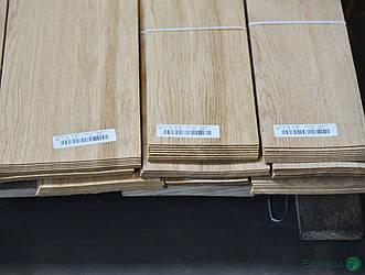Шпон Дуба - 1,5 мм довжина від 0,50 - 0,75 м / ширина від 9 см (I гатунок)