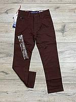 Катоновые брюки для мальчиков. 8-  лет.