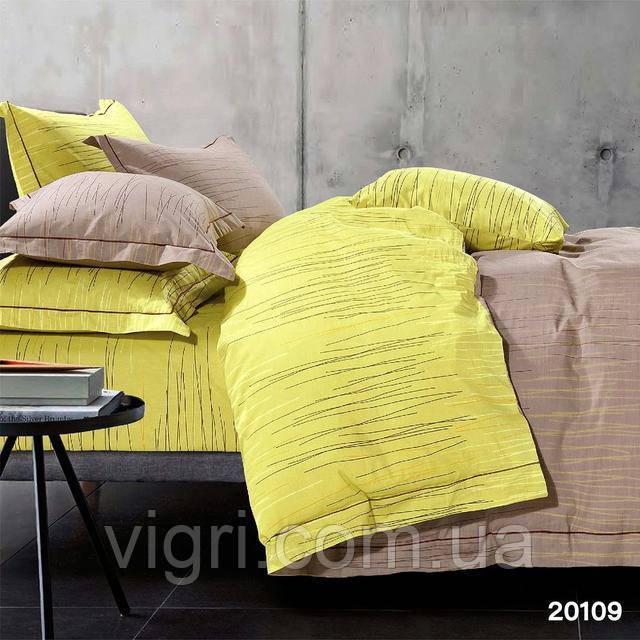 Постільна білизна, євро комплект, ранфорс, Вилюта «VILUTA» VP 20109