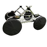 Чехлы на колеса коляски, 4 шт. Для колес диаметром 30-35 см. (ЗМ)