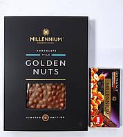 Шоколад молочный Миллениум Голден Натс, 1,1 кг Подарочный