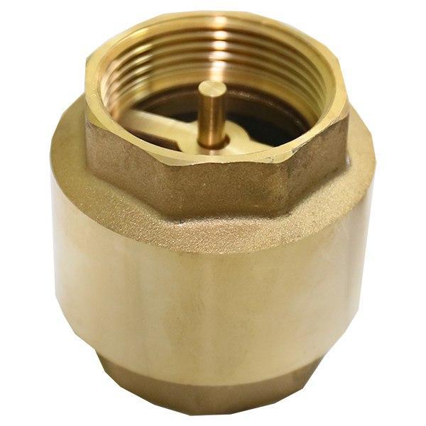 """Зворотний клапан 1"""" Fado New з латунним шоком KL3"""