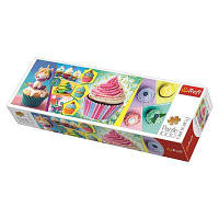 Пазл-панорама 1000 Trefl Кольорові капкейки (Colourful cupcakes)