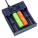 Зарядний пристрій для акумуляторів Liitokala Lii-S4, фото 3