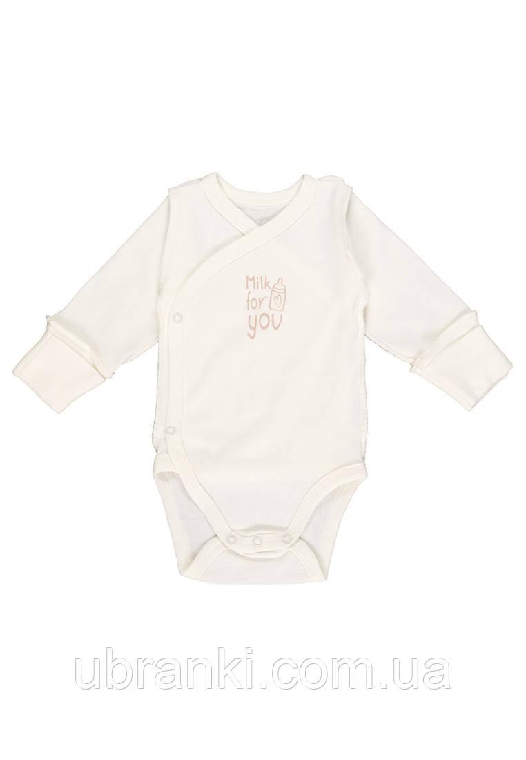 Боди для новорожденных ткань интерлок