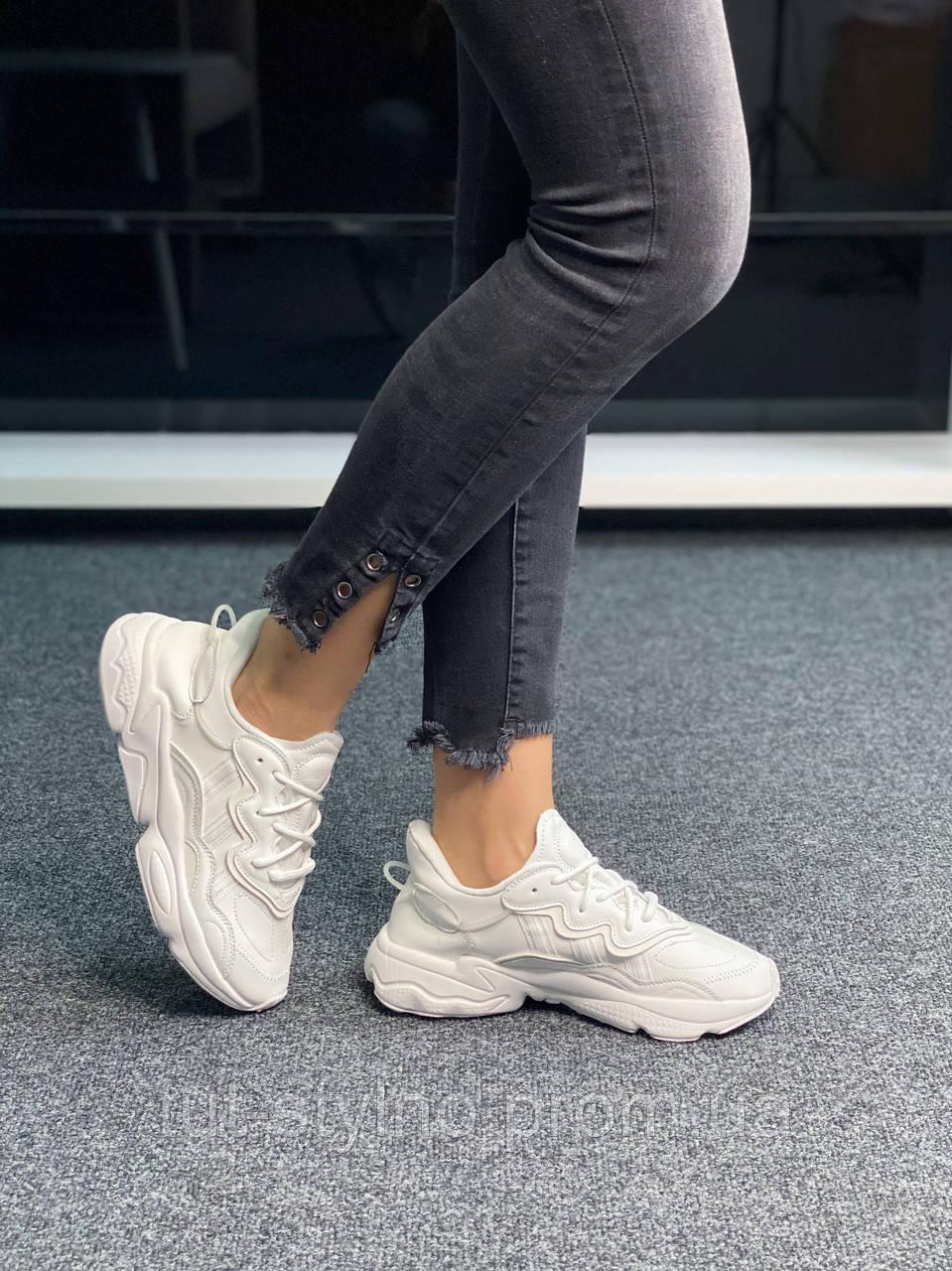 Adidas Ozweego White (белые)