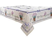 """Скатертина святкова гобеленова """"Lilac"""" ТМ Lеfard, розмір 140х240 см"""