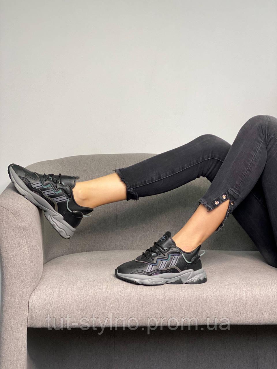 Adidas Ozweego Black (черный)