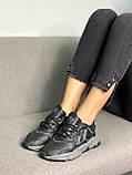 Adidas Ozweego Black (черный), фото 4