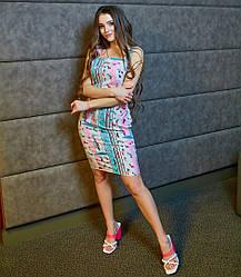Платье модное в расцветках 82004