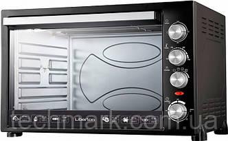 Электродуховка Электрическая печь LIBERTON LEO-800 Black (80 л.)