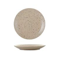 Тарелка керамика 7,5 мелкая гранит бежевая