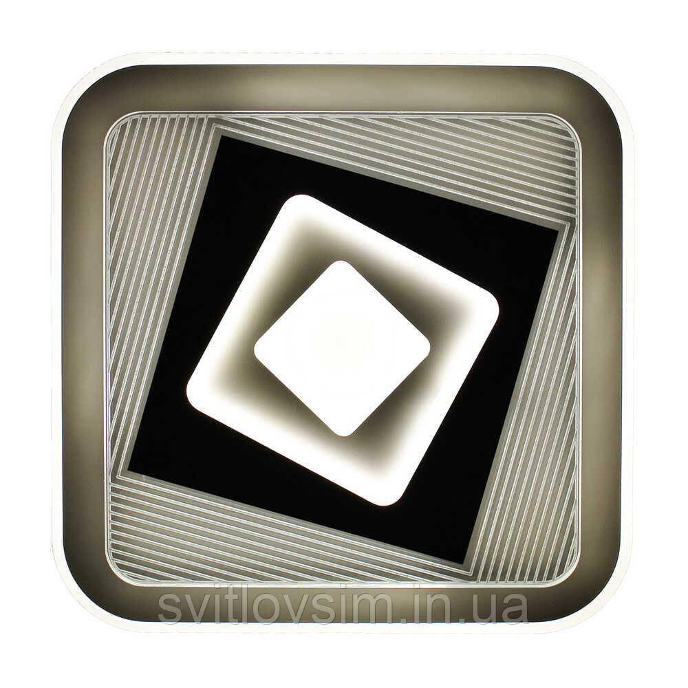 Светильник LED smart FUSION+пульт 100W 3000-6000K IP20 квадрат