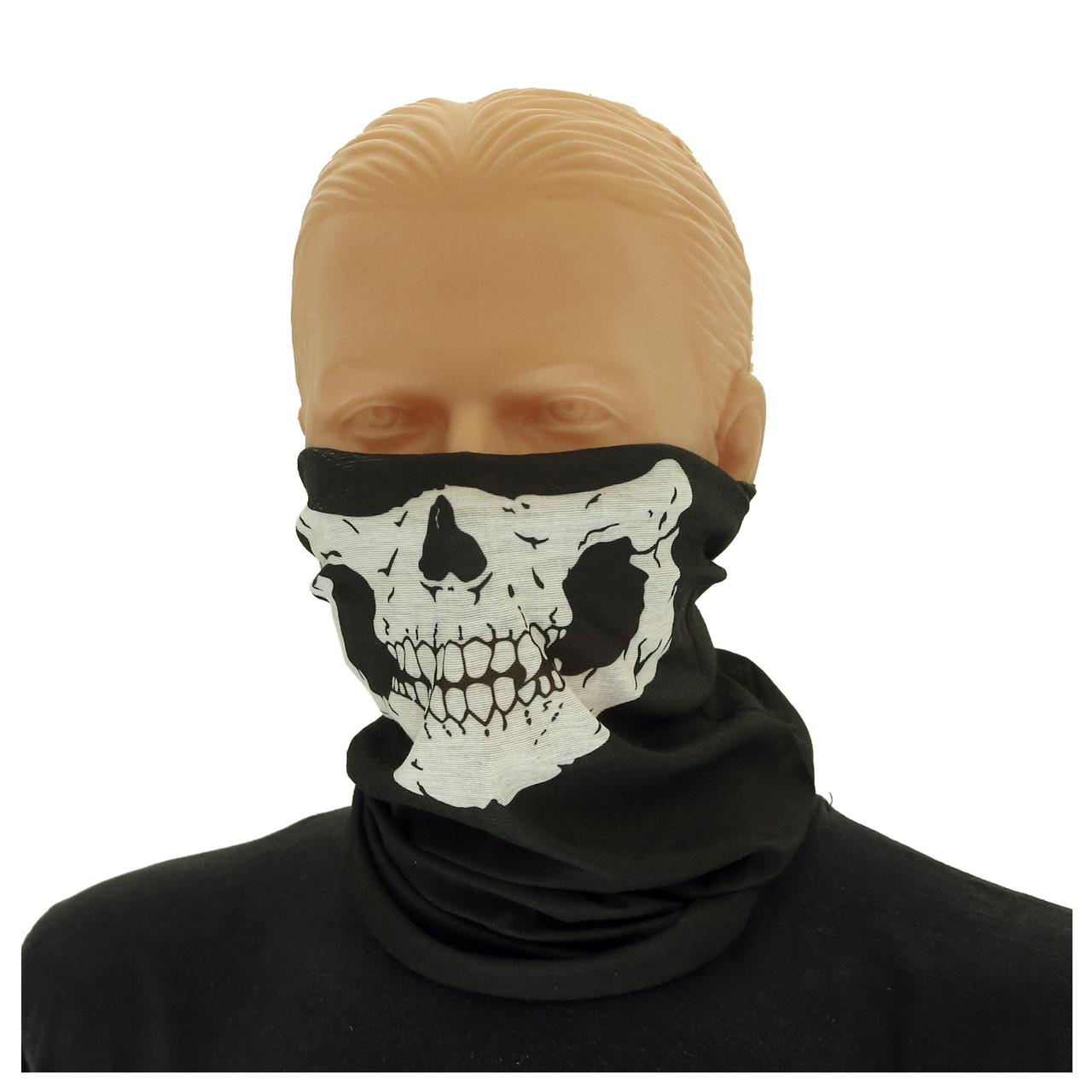 """Бафф-маска с рисунком """"Череп""""  11929"""