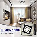 Светильник LED smart FUSION+пульт 100W 3000-6000K IP20 квадрат, фото 2