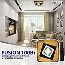 Светильник LED smart FUSION+пульт 100W 3000-6000K IP20 квадрат, фото 4